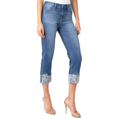 Liverpool Blue Sadie Crop Jeans