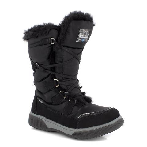 Kimberfeel Black Sasha Snow Boots