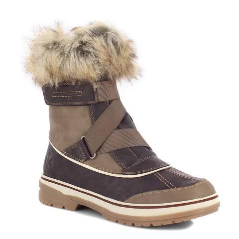 Kimberfeel Brown Louna Snow Boots