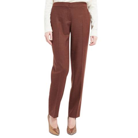 WTR London Brown Dima Wool/Cashmere Trousers
