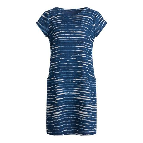 Seasalt Brushed Stripe Marine River Cove Dress