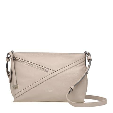 Radley Dove Grey Cedar Road Medium Zip Top Crossbody