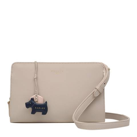 Radley Dove Grey Liverpool Street Medium Zip Top Crossbody
