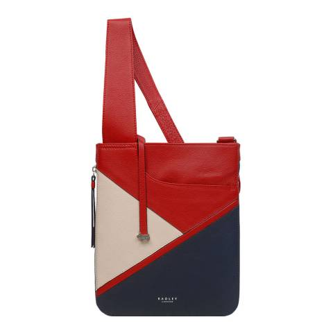 Radley Colourblock Pockets Medium Zip Around Crossbody