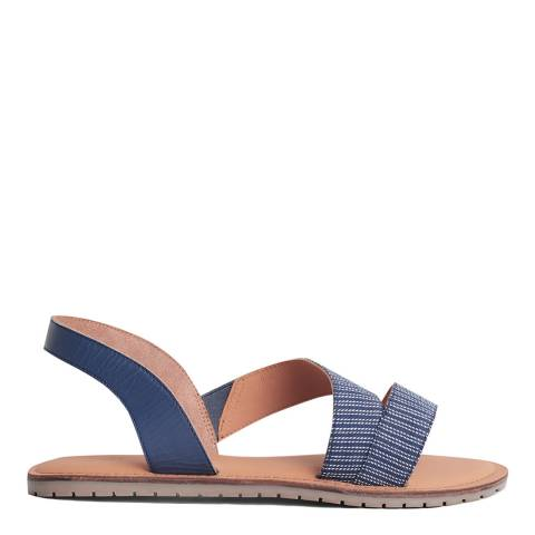 Seasalt Mini Stripe Night Sun Terrace Sandal