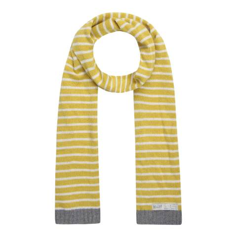 Seasalt Yellow Breton Stripe Sailor Scarf