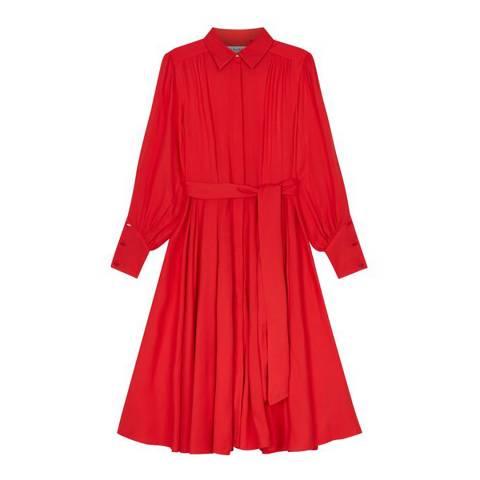 Lulu Guinness Red Darcy Dress