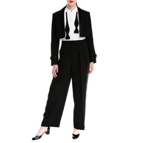 Lulu Guinness Black Thandi Trousers