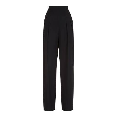 Lulu Guinness Black Holly Trousers