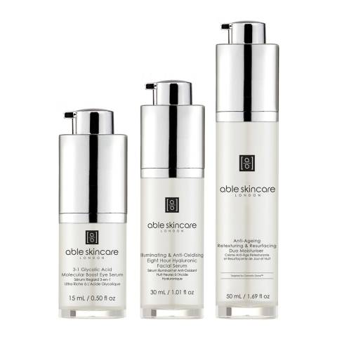 Able Skincare Set 3-Phase Programme Day & Night