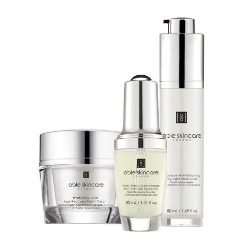 Able Skincare Set Day and Night Superfood Treatment