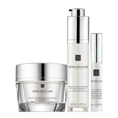 Able Skincare Set Optimal Detoxifying & Renewal Edition
