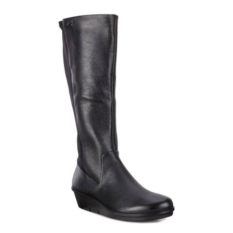 ECCO Black Skyler Women Lyra Stretch Boots