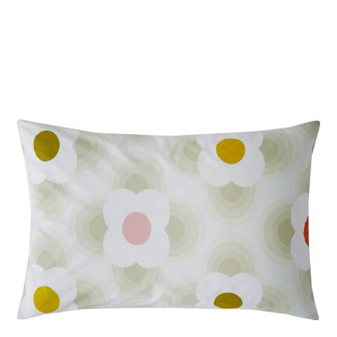 Orla Kiely Striped Petal Pair of Housewife Pillowcases