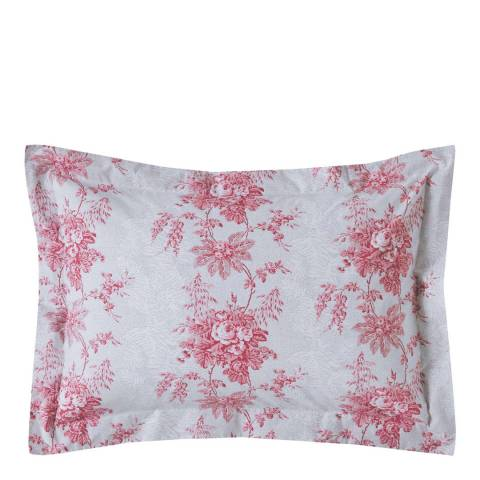 Cabbages & Roses Charlotte Pair of Oxford Pillowcases, Plaster