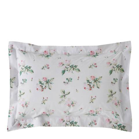 Cabbages & Roses Clementine Pair of Oxford Pillowcases, Pink