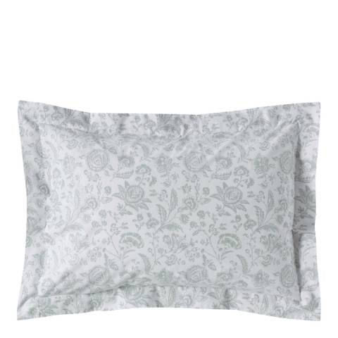 Cabbages & Roses French Toile Pair of Oxford Pillowcases, Mint