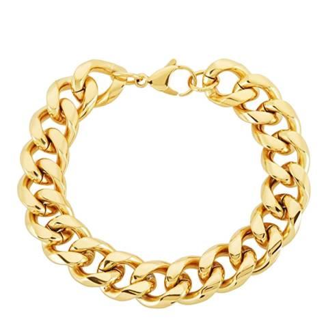 Liv Oliver Gold Chunky Link Bracelet