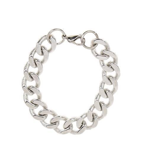 Liv Oliver Silver Chunky Link Bracelet