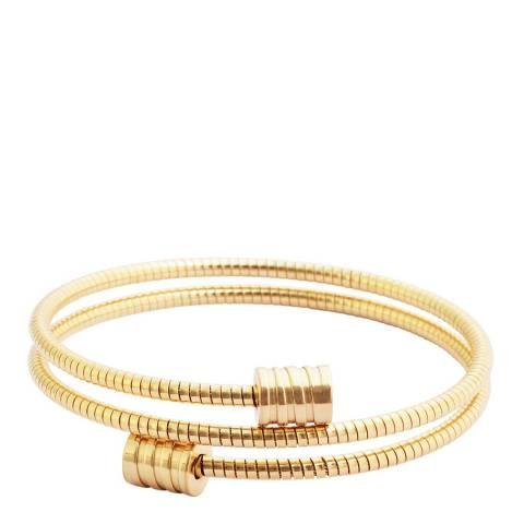 Liv Oliver Gold Wrap Bracelet