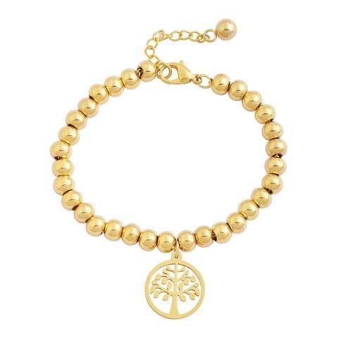 Liv Oliver Gold Tree Charm Bracelet