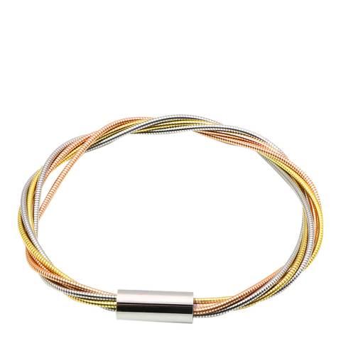 Liv Oliver Gold Tri Color Bracelet