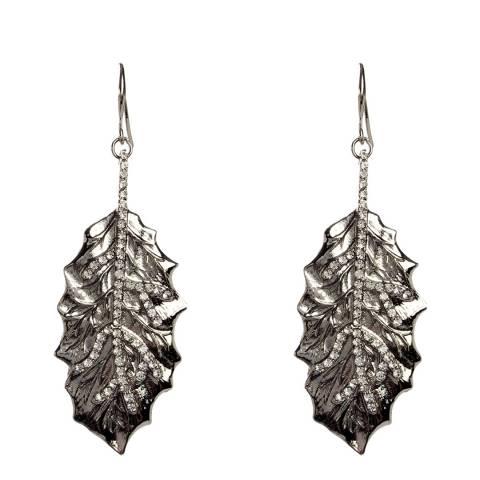 Amrita Singh Silver Gia Leaf Earrings