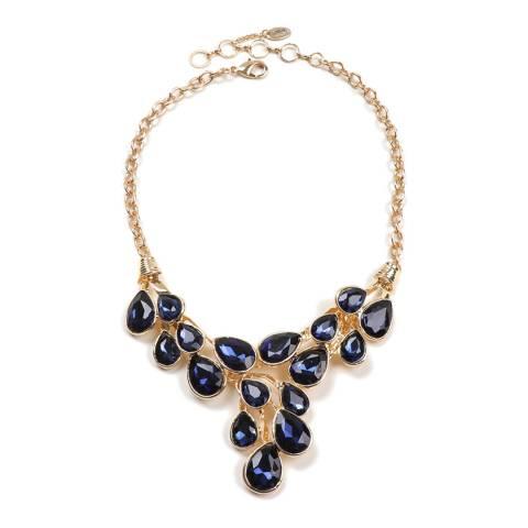Amrita Singh Blue Cascading Teardrop Necklace