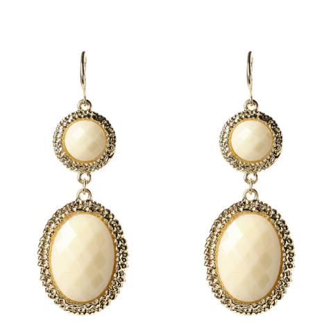Amrita Singh Gold-tone Brass Earrings