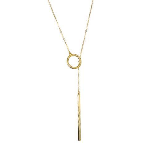 Karen Millen Gold Snake Twist Necklace