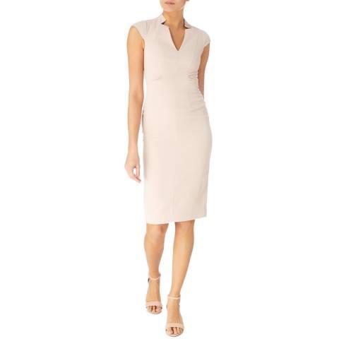 Karen Millen Blush V Neck Pencil Dress