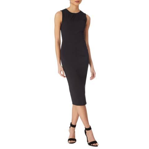 Karen Millen Black Graphic Insert Dress