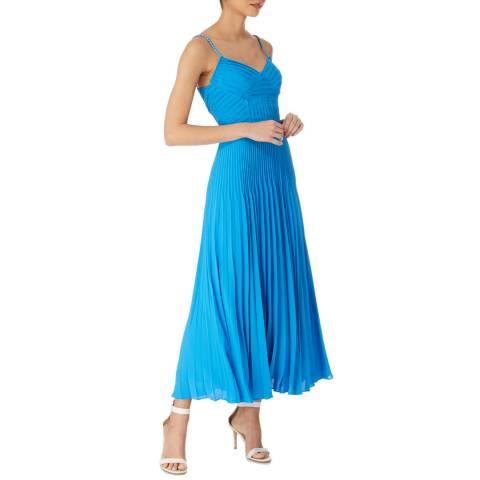 Karen Millen Blue Chain Detail Dress