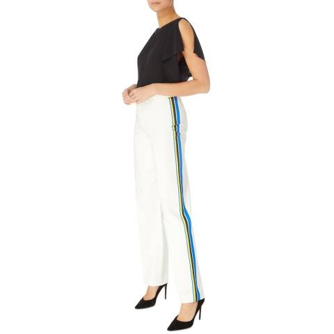 Karen Millen Ivory Tailored Capri Trousers