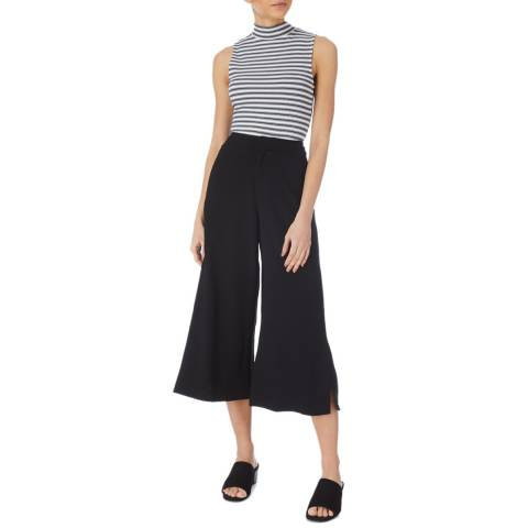 Karen Millen Black Fluid Culotte Trousers