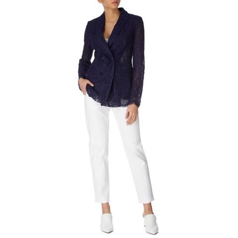 Karen Millen Dark Blue Lace Blazer
