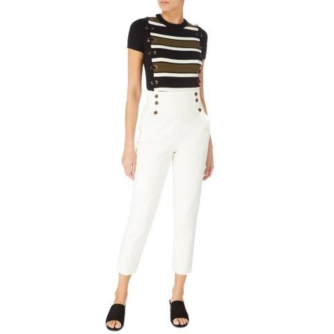 Karen Millen White Tailored Trousers