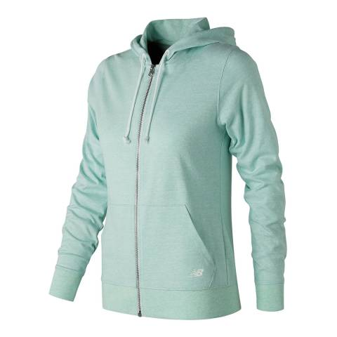 New Balance Performance Mint Green Heathered Hoodie
