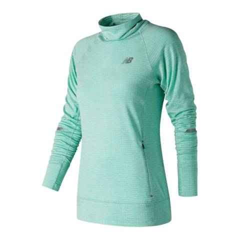 New Balance Performance Turquoise NB Heat Pullover