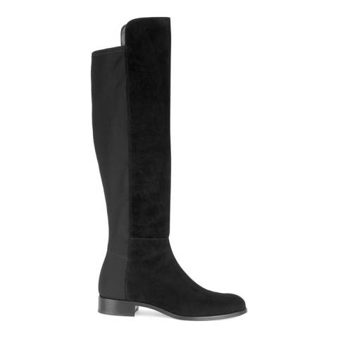 Hobbs London Black Lorna Suede Knee High Boot