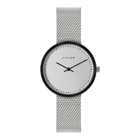 Jigsaw Cool Grey Alara Watch 31.6mm