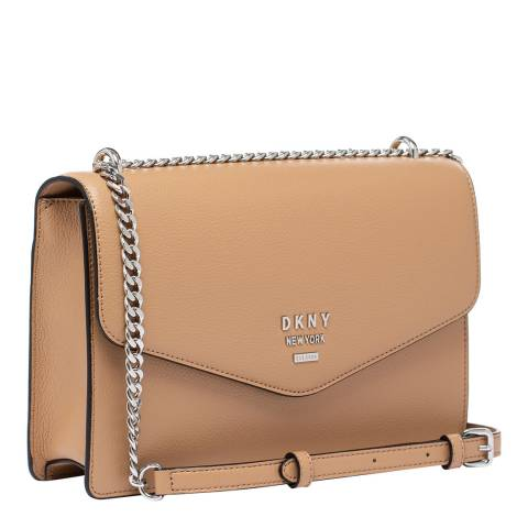 DKNY Latte Whitney Large Shoulder Bag