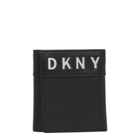DKNY Black Bedford Trifold Wallet