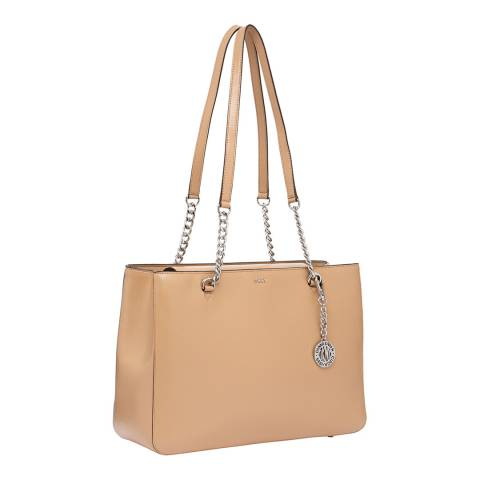 DKNY Latte Bryant Large Shopper Tote