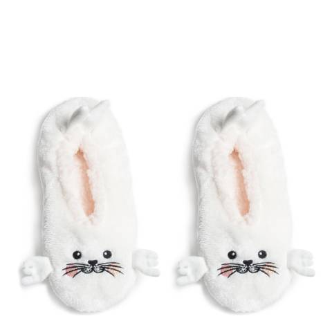 Wild Feet White Seal Animal Slippers