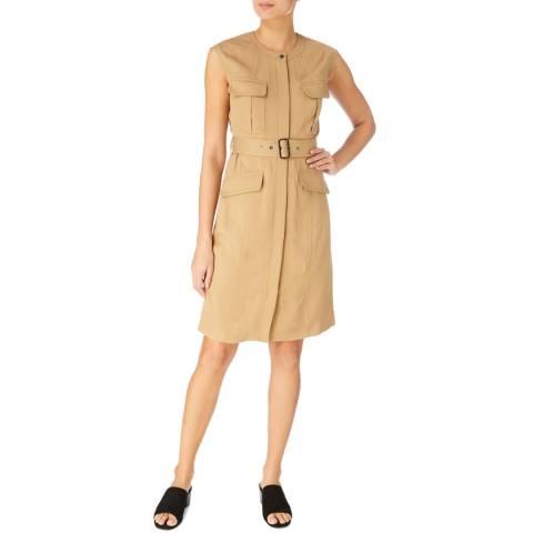 Karen Millen Camel Utility Dress