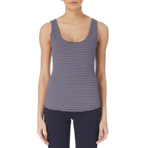 Karen Millen Multi Mini Stripe Vest Top