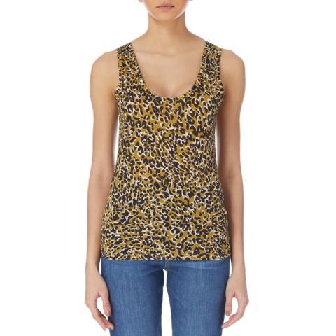 Karen Millen Multi Leopard Print Vest