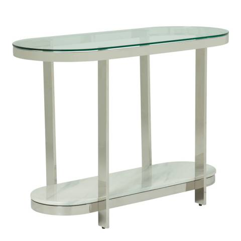 Serene Furnishings Keira Silver Console Table
