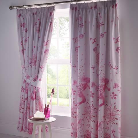 Kids Club Fairy Princess 168x183cm Curtains